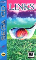 Links: The Challenge of Golf SEGA CD Front Cover