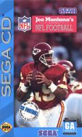 Joe Montana's NFL Football SEGA CD Front Cover