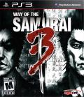 Way of the Samurai 3 PlayStation 3 Front Cover