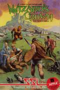 Wizard's Crown Apple II Front Cover