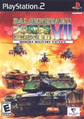 Dai senryaku VII: Modern Military Tactics Exceed PlayStation 2 Front Cover