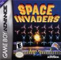 Space Invaders Game Boy Advance Front Cover