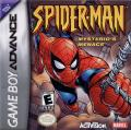 Spider-Man: Mysterio's Menace Game Boy Advance Front Cover