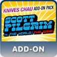 Scott Pilgrim vs. The World: The Game - Knives Chau Add-On Pack PlayStation 3 Front Cover