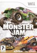Monster Jam Wii Front Cover