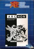 Archon: The Light and the Dark Atari 8-bit Front Cover
