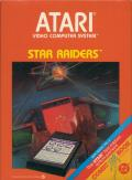 Star Raiders Atari 2600 Front Cover Outer box front cover