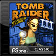Tomb Raider III: Adventures of Lara Croft PlayStation 3 Front Cover