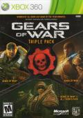 Gears of War: Triple Pack Xbox 360 Front Cover