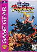 Virtua Fighter Animation Game Gear Front Cover