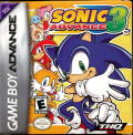 Sonic Advance 3 Game Boy Advance Front Cover