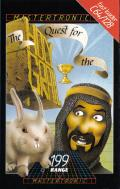 The Quest for the Holy Grail Commodore 64 Front Cover
