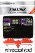 Subsunk Commodore 64 Front Cover