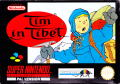 Tintin in Tibet SNES Front Cover