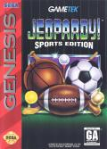 Jeopardy! Sports Edition Genesis Front Cover