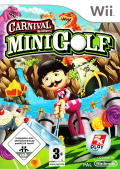 Carnival Games: Mini Golf Wii Front Cover