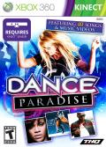 Dance Paradise Xbox 360 Front Cover