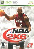 NBA 2K6 Xbox 360 Front Cover