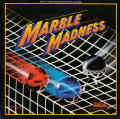 Marble Madness Apple II Front Cover