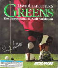David Leadbetter's Greens DOS Front Cover