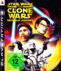 Star Wars: The Clone Wars - Republic Heroes PlayStation 3 Front Cover