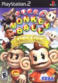 Super Monkey Ball Deluxe PlayStation 2 Front Cover