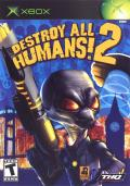 Destroy All Humans! 2 Xbox Front Cover