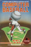 Computer Baseball Commodore 64 Front Cover