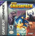SEGA Smashpack Game Boy Advance Front Cover