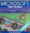 Microsoft Flight Simulator (v2.0) PC Booter Front Cover