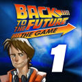 Back to the Future: The Game - Episode 1: It's About Time iPad Front Cover