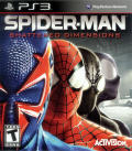 Spider-Man: Shattered Dimensions PlayStation 3 Front Cover