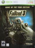 Fallout 3: Game of the Year Edition Xbox 360 Front Cover Glossy