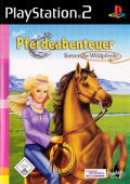 Barbie Horse Adventures: Wild Horse Rescue PlayStation 2 Front Cover