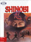 Shinobi Commodore 64 Front Cover