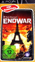 Tom Clancy's EndWar PSP Front Cover