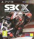 SBK X: Superbike World Championship PlayStation 3 Front Cover