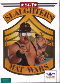 Sgt Slaughter's Mat Wars Commodore 64 Front Cover