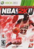 NBA 2K11 Xbox 360 Front Cover