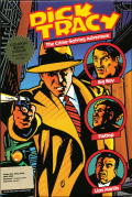 Dick Tracy: The Crime-Solving Adventure Amiga Front Cover
