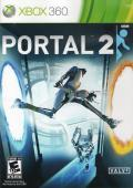 Portal 2 Xbox 360 Front Cover