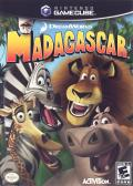 Madagascar GameCube Front Cover