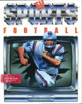 TV Sports: Football Amiga Front Cover