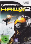 Tom Clancy's H.A.W.X 2 Wii Front Cover