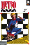 Metro Cross Atari ST Front Cover