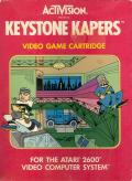 Keystone Kapers Atari 2600 Front Cover