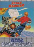 Space Harrier Game Gear Front Cover