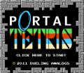 Portal Tetris Browser Front Cover
