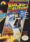 Back to the Future NES Front Cover