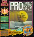 Jimmy Connors Pro Tennis Tour Amiga Front Cover